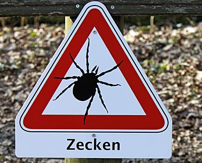 Vorsicht Zecken | Foto: Martina Berg - www.pferdografen.de