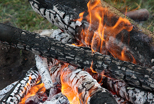 Lagerfeuer - Foto: © Martina Berg