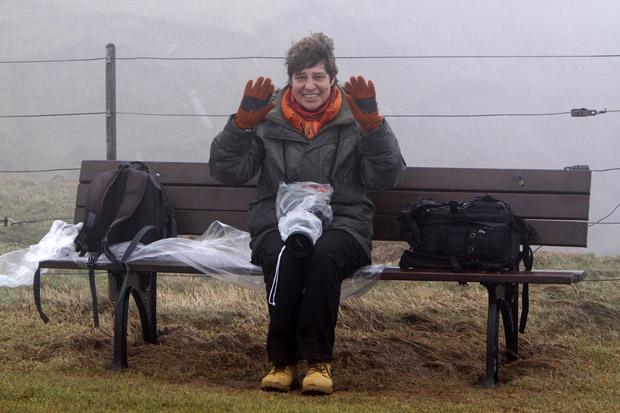 Es war kalt - und kein Fotowetter - Foto: © Martina Berg